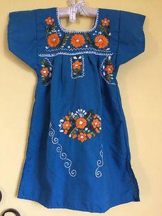 Mexican dress vestido mexicano frida kahlo by Miamorcitocorazon