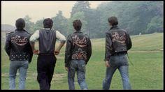 Lords of Flatbush Leather Jacket Gang Movie Rockabilly Teddy Boy Rock n Roll Pomp Jeans Silvester Sly Stallone