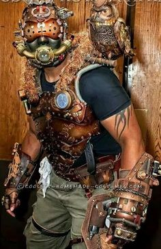 Awesome Homemade Steampunk Costume... Coolest Halloween Costume Contest