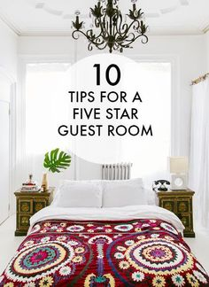 10 Tips For A Five Star Guest Room / eBay