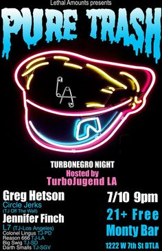 Sailor boys and sailor girls get ready for tomorrow night's @TurbonegroHQ night @themontybar with Greg Hetson from #CircleJerks and Jennifer Finch of #L7!! No cover!!