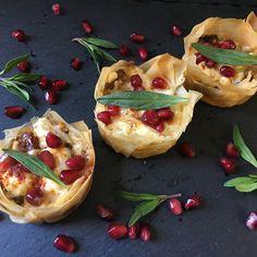 Mini quiches aux aubergines, chèvres, tomates confites et thym sauvage by Cel et Sucre ~ baked with passion 👌🏻