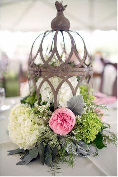 Rustic Wedding Centerpieces   Rustic, Vintage-Styled Wedding Centerpieces