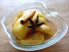Pomalý hrnec: Lahodný jablečný kompot v pomalém hrnci Crockpot, Slow Cooker, Pudding, Desserts, Food, Tailgate Desserts, Deserts, Custard Pudding, Essen