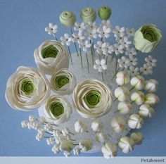 The Petalsweet Blog: Ranunculus Sugar Flowers