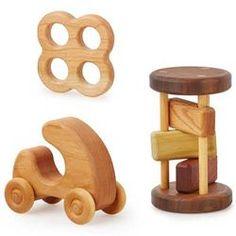 Wooden Baby Shower Gift Set
