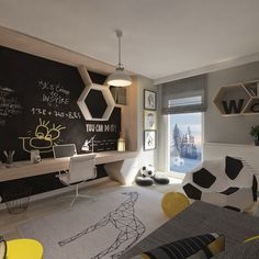 Modern Kids bedroom by living box - Modern Modern Kids Bedroom, Boys Bedroom Decor, Living Room Decor, Ikea Bedroom, Diy Zimmer, Teenage Room, Living Room Green, Kids Room Design, Room Paint