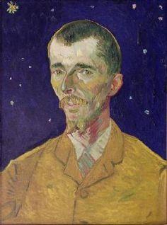 Vincent van Gogh - Portrait of Eugene Boch (1855-1941)
