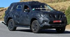 New Nissan Navara-Based SUV Spied: Could This Be The Next Non-US Pathfinder?