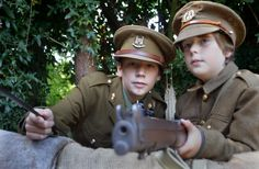 English Family Builds a Battlefield for the Great War at Norwich Home - http://www.warhistoryonline.com/war-articles/english-family-builds-battlefield-great-war-norwich-home.html