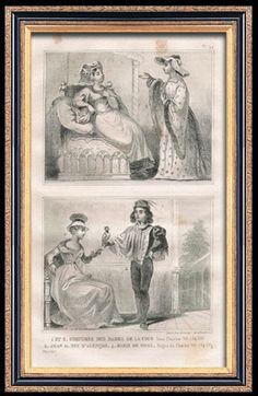 Moda Francesa e Trajes Militares - Estilo do Século XV (15) - João II, Duque de Alençon - Marie de Fayel - Corte do Rei da França - Carlos VII (1430)