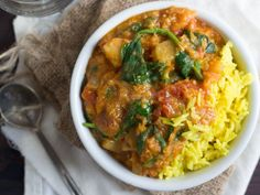Spicy Ethiopian Lentil Stew - one pot version with lots of veggies