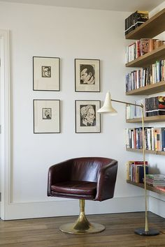 reading nook | King's Road Apartment | Rose Uniacke