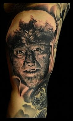 Annual South florida tattoo expo august - 1 st place tattoo of the Annual South Florida tattoo expo august - 3 rd place tattoo Large Tattoos, New Tattoos, Tattoos For Guys, Horror Movie Tattoos, Horror Movies, Mabon, Samhain, Monster Tattoo, Classic Monsters