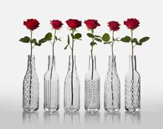 Bottles crystal collection
