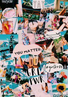 💖or leslie ☪hanel cute backgrounds, phone backgrounds, cute wallpapers Ed Wallpaper, Wallpaper Collage, Iphone Wallpaper Vsco, Collage Background, Summer Wallpaper, Beach Wallpaper, Aesthetic Pastel Wallpaper, Aesthetic Backgrounds, Aesthetic Wallpapers