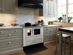 Fancy a wood stove? Find your perfect stove at Josef Davidssons Kitchen Worktop, Kitchen Cabinets, Small Kitchen, Modern Appliances, Modern Kitchen Worktops, Modern Kitchen, Airstream Decor, Wood Burning Stove, Wood Stove