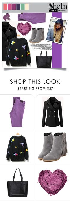 """""""SheIn (10)"""" by aida-banjic ❤ liked on Polyvore featuring AG Adriano Goldschmied, Sephora Collection, women's clothing, women's fashion, women, female, woman, misses, juniors and shein"""