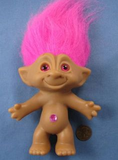 Treasure troll doll
