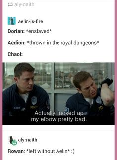 Nailed it. #dorian #aedion #rowan and then #chaol