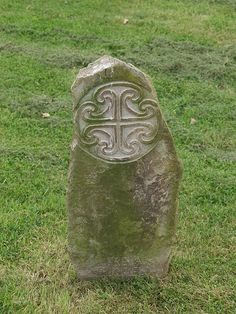 Ancient Headstone at Killiney Graveyard by ahurtt, via Flickr