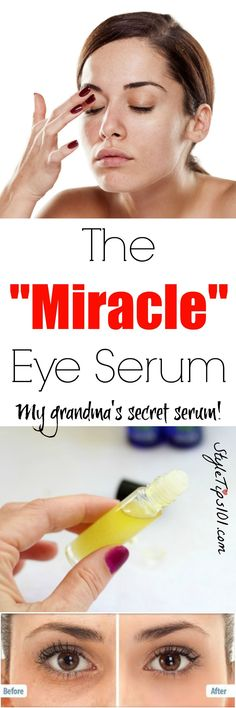 This homemade eye serum uses only coconut oil, vitamin E, and camphor oil to smooth out wrinkles and fine lines, rejuvenate skin, and fill in fine lines.