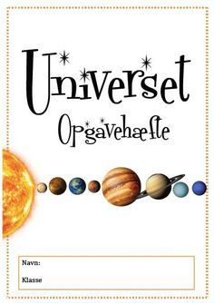 natur og teknik opgaver universet vadehavet dinosaur undervisning Teaching Schools, Teaching Science, Science For Kids, Science And Nature, Teaching Kids, Activities For Kids, Planet For Kids, Cool Kids, Diy For Kids
