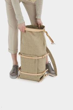 U-tility Backpack Raw Natural – Thisispaper Shop Backpack Outfit, Backpack Bags, Rare Clothing, Leather Tooling, Leather Bags, Leather Jewelry, Cool Backpacks, Handmade Bags, Handmade Bracelets