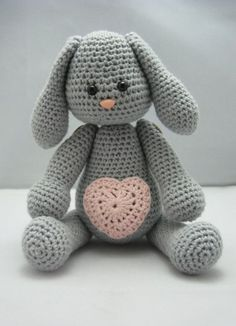 Sweet Bunny (Instant download Amigurumi doll crochet pattern | http://kid-toy.lemoncoin.org