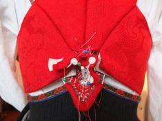 Kjoleliv Folklore, Damask, Norway, Bomber Jacket, Vest, Costume, Embroidery, Hipster Stuff, Needlepoint