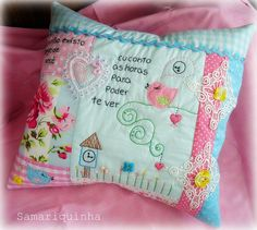 Patchwork Cushion - one day!