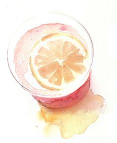 it's so simple...yet so gorgeous! i love #watercolors