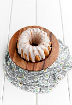 Desserts for Breakfast: Chocolate Ricotta and Lemon Poppyseed Pound Cakes