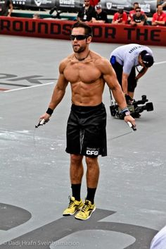 Rich Froning, CrossFit champion. Hot.