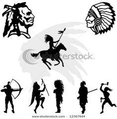 Native American Silhouettes