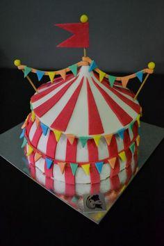 g teau cirque lion et l phant pour enfants circus cake lion and elephant for childs. Black Bedroom Furniture Sets. Home Design Ideas