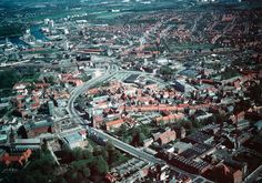 Odense centrum, 1980.