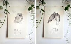 new prints + calendars from the wild unknown