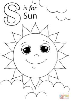 S Coloring Sheets letter s is for sun coloring page free printable coloring S Coloring Sheets. Here is S Coloring Sheets for you. S Coloring Sheets s coloring page coloring page book for kids. S Coloring Sheets colouring pages. Letter A Coloring Pages, Space Coloring Pages, Spring Coloring Pages, Coloring Sheets For Kids, Free Printable Coloring Pages, Coloring Pages For Kids, Coloring Books, Apple Coloring, Letter S Crafts