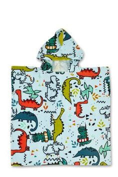Buy Dinosaur 3D Towelling Poncho online today at Next: United States of America