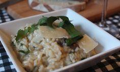 Wild Garlic and Mushroom Risotto