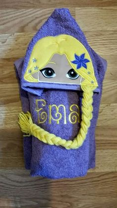 PERSONALIZED HANDMADE HOODED TOWEL GREAT FOR SWIM SEASON! #Unbranded