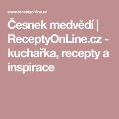 Česnek medvědí | ReceptyOnLine.cz - kuchařka, recepty a inspirace