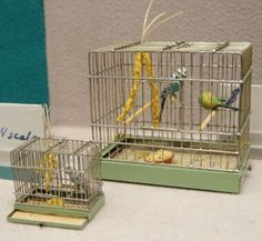 1:12th and 1:24th scale bird cages by julie