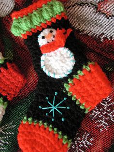Mini Snowman Stocking | por Buckster's Pics