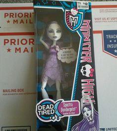 Monster High Dead Tired Spectra
