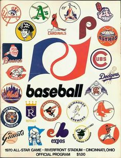 Awesome  1970 All-Star Game Program