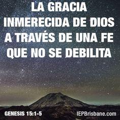 La gracia inmerecida de Dios a través de una fe que no se debilita