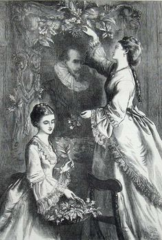 Victorian Illustration, A4 Poster, 500 Piece Puzzles, Poster Size Prints, Photo Mugs, Photographic Prints, Fine Art Prints, Portrait Illustration, Painting