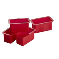 12 My Kitchen Mini Loaf TIn Liners - From Lakeland
